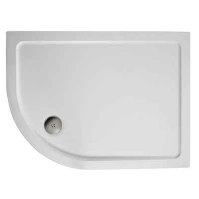 1200 x 900 Offset Quadrant Left Hand Shower Tray