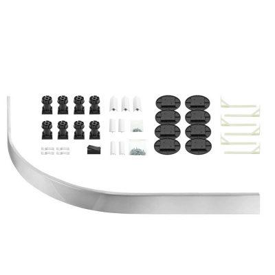 1000mm quadrant Shower riser kit