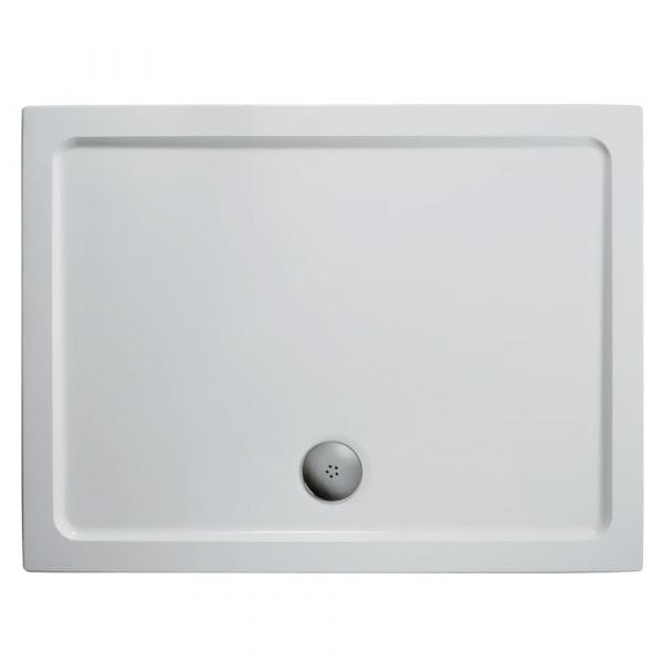1000 x 800 Low Profile Rectangle Shower Tray