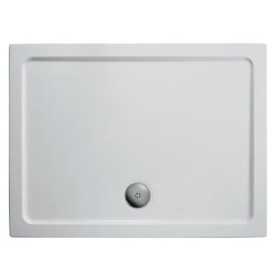 1100 x 800 Low Profile Rectangle Shower Tray