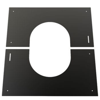 Finishing Plate Black 0-30 Degree 125mm