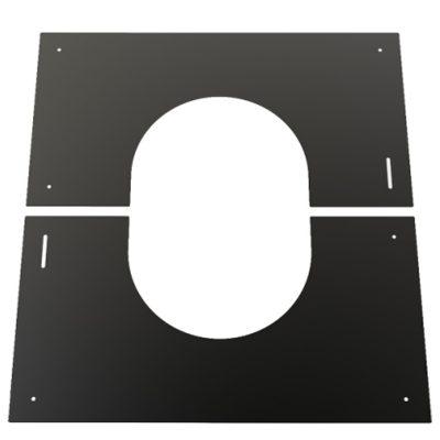 Finishing Plate Black 0-30 Degree 125mm