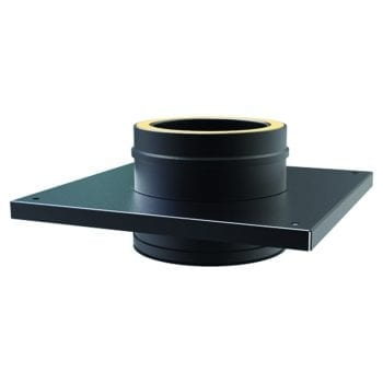 Console Plate 125mm Black