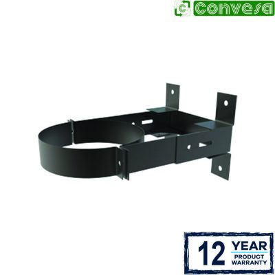 Wall Support 80 to 130mm - 150mm Black
