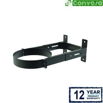 Wall Support 130 - 210mm - 150mm Black