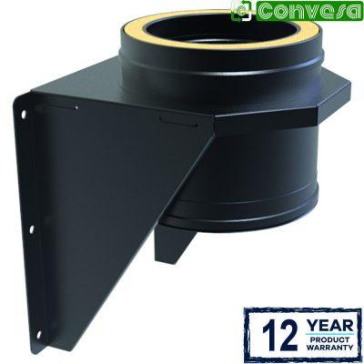 Adjustable Base Support 125mm Black