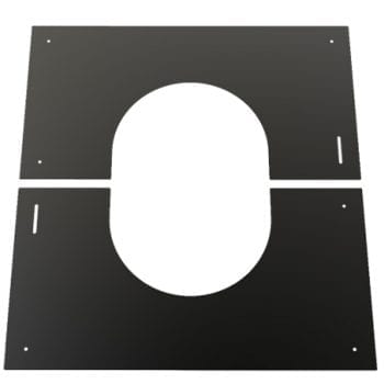 Convesa Black Finishing Plate 150mm