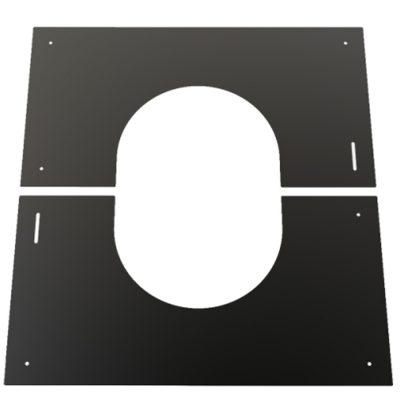 Convesa Black Finishing Plate 150mm