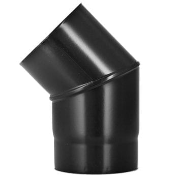 45 Bend Vitreous Enamel Flue Pipe 100mm