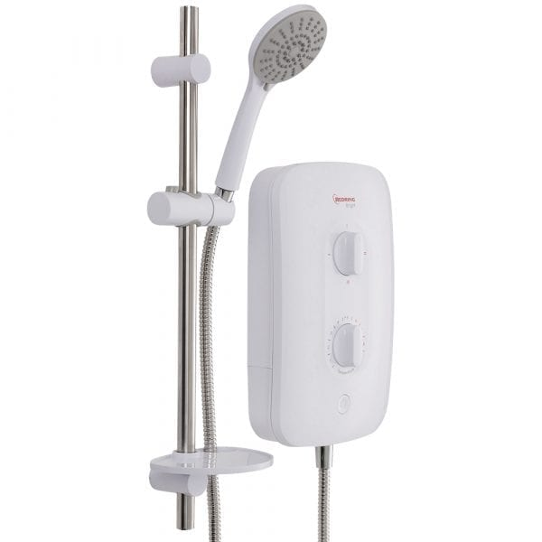 Redring Bright 7.5KW Electric Shower Smart Fit
