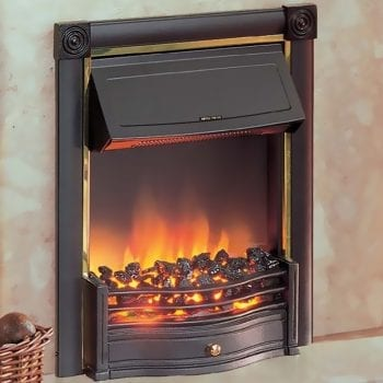 Dimplex Horton Electric Fire Black 2KW