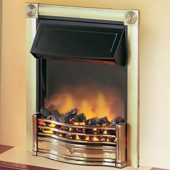 Dimplex Horton Electric Fires Brass 2KW
