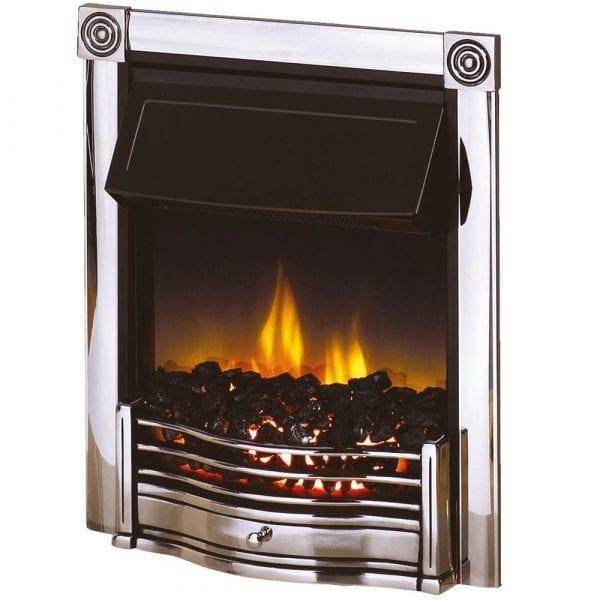Dimplex Horton chrome electric fire