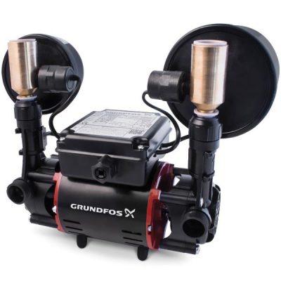 Grundfos STR2-2 CN Universal Twin Pump 2 Bar