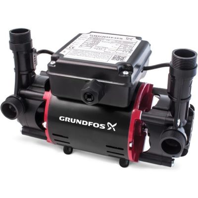 Grundfos STR2-1.5 C Twin Shower Pump 1.5 Bar Positive