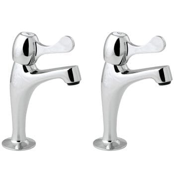 Deva CNTL03 Commercial Lever Action Pillar Sink Taps