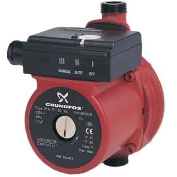 Grundfos UPA15-90N Small Appliance Booster Pump