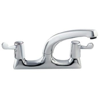Deva DLT105 Deck Mounted 3 Inch Lever Sink Mixer