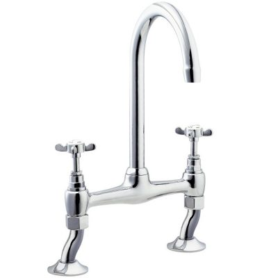 Deva CR305 Coronation Bridge Sink Mixer