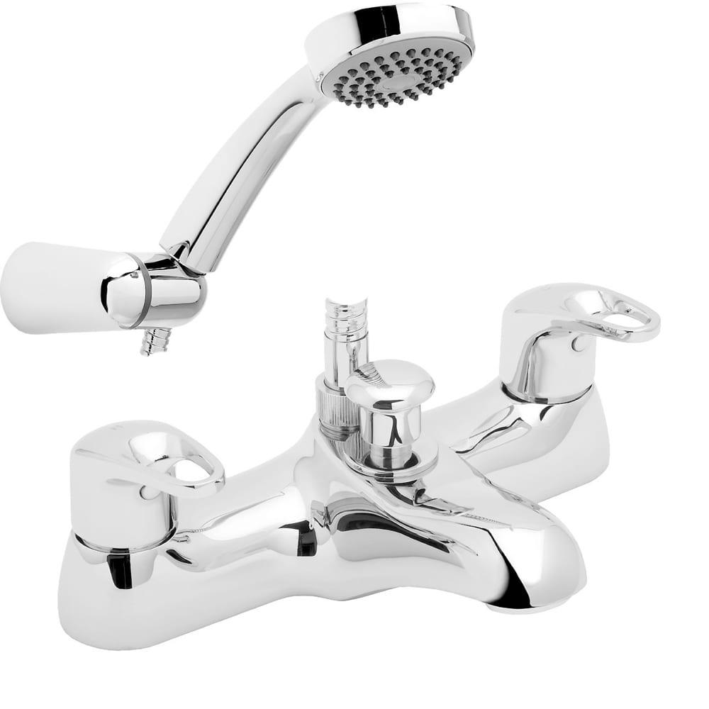 Deva LACE171 Lace Mono Kitchen Sink Mixer Tap with Chrome Finish