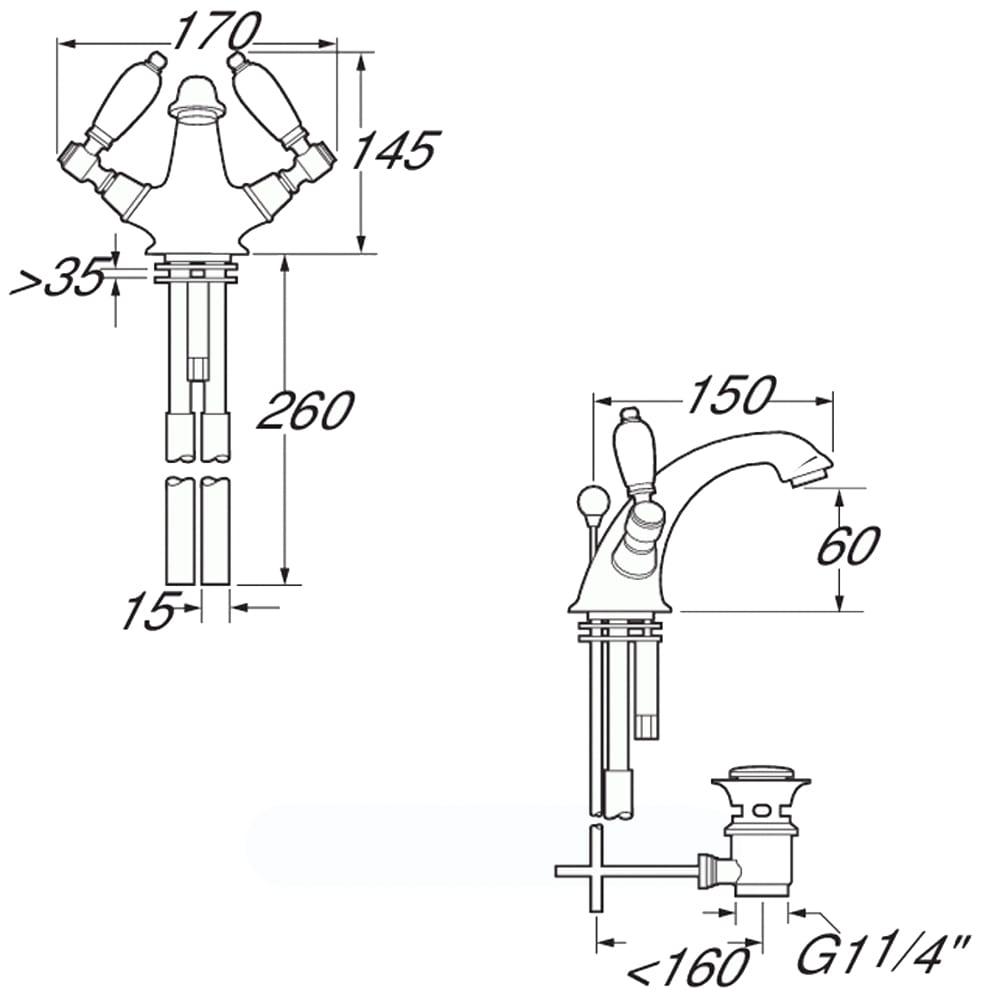 Hill Pumps 0970-001 Stirrup Bucket Pump 970