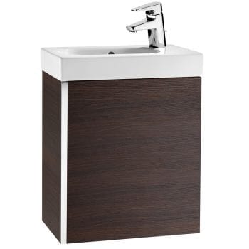Roca Mini Unik Vanity Unit Textured Wenge