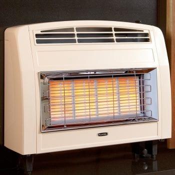 Flavel Strata Gas Fire Convector Cream FORSC0EN