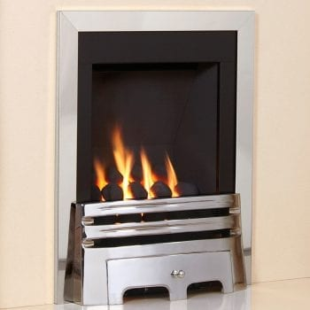 Flavel Windsor Gas Fire Classic Silver FSRC3WMN