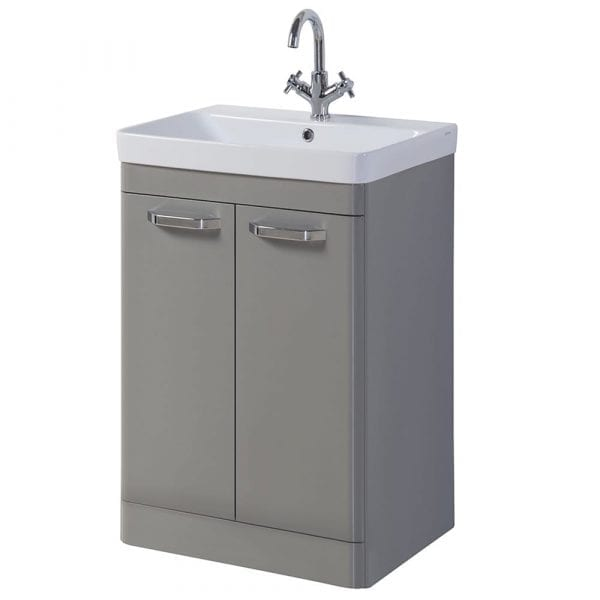 Kartell K Vit Options Vanity Unit 500mm Basalt Grey