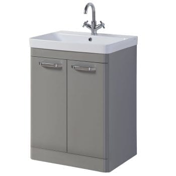 K Vit Options Vanity Unit 600mm Basalt Grey