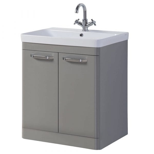 K Vit Options Vanity Unit 800mm Basalt Grey
