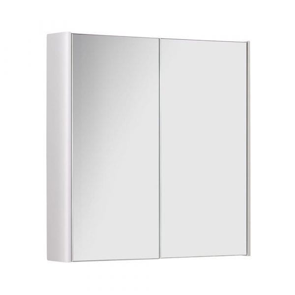 K Vit Options Mirror Cabinet 600mm White