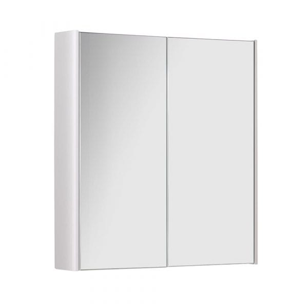 K Vit Options Mirror Cabinet 500mm White