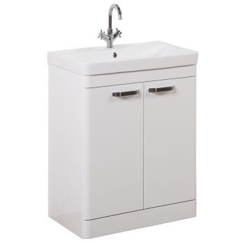 K Vit Options Vanity Unit 600mm White