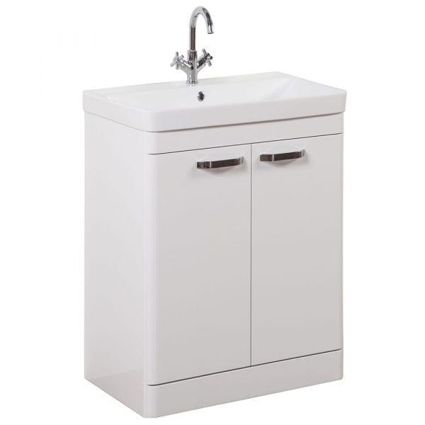 K Vit Options Vanity Unit 600mm White