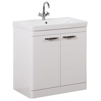 K Vit Options Vanity Unit 800mm White