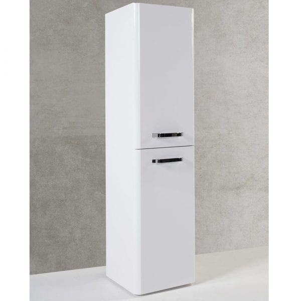 K Vit Options Wall Mounted Side Unit 350mm White
