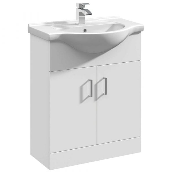 Premier Mayford 650mm Vanity Unit White