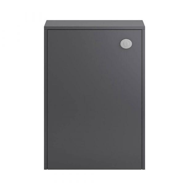 Hudson Reed Apollo Slimline WC Unit 600mm Grey Gloss