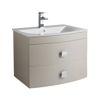 Hudson Reed Sarenna Wall Hung Vanity 700mm Cashmere