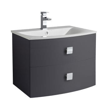 Hudson Reed Sarenna Wall Hung Vanity 700mm Graphite