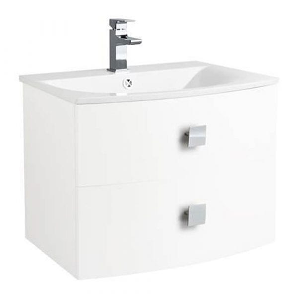 Hudson Reed Sarenna Wall Hung Vanity 700mm White
