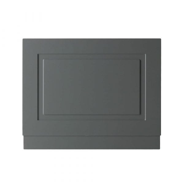 K Vit Astley Bath End Panel 700mm Matt Grey