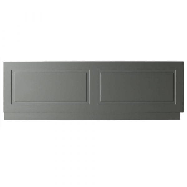 K Vit Astley Bath Front Panel 1800mm Matt Grey
