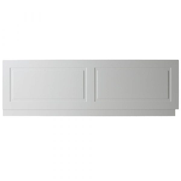 K Vit Astley Bath Front Panel 1800mm Matt White