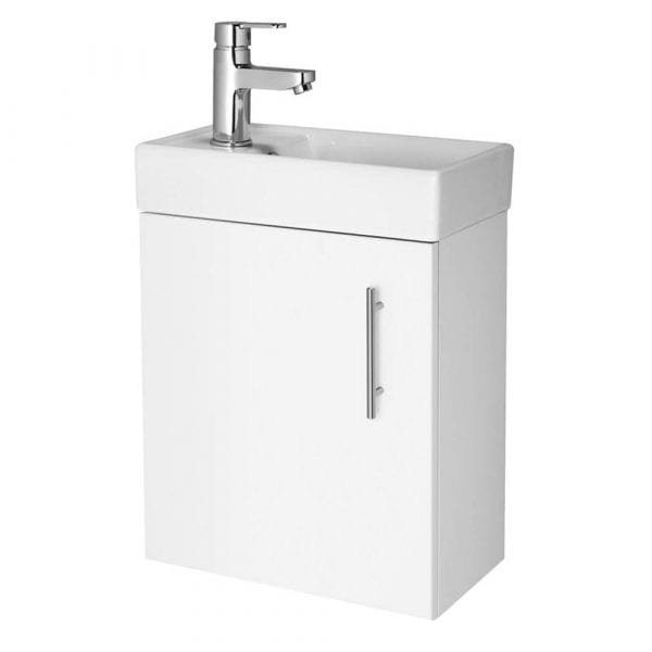 Premier Vault 400mm Wall Hung Vanity & Basin