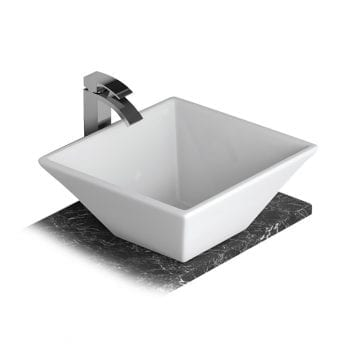 Lecico FSBSLOPE Counter Top Basin 448mm