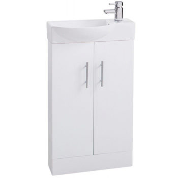 Cassellie White Mini Vanity