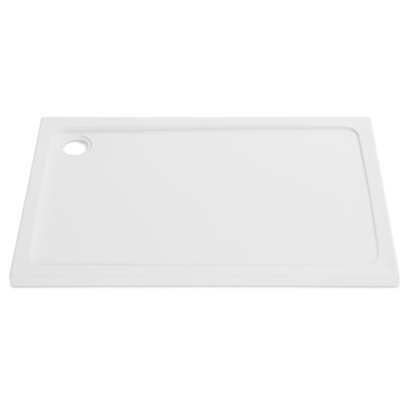 1100 x 800 Rectangle Stone Resin Shower Tray