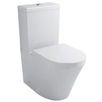Pura Arco Closed Back Close Coupled Toilet